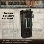Ex Machina Lab panel 1