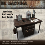 Ex Machina Lab table