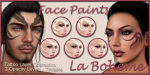 LB Facepaints Organic Tribals Set5