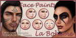 LB Facepaints Organic Tribals Set6