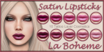 LB Lips Ad Satin Set4 Purples