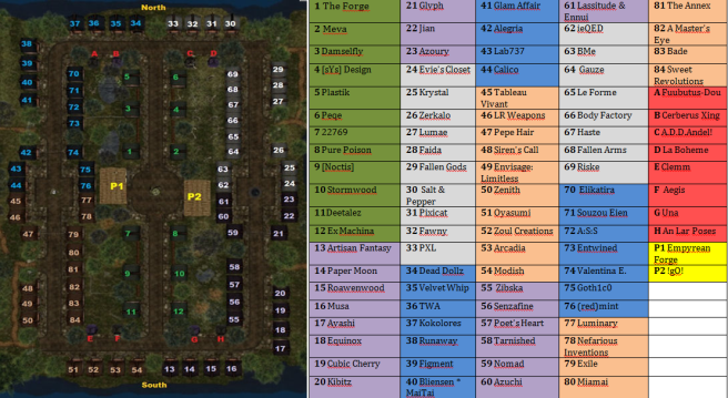 Map 3rd August 2015