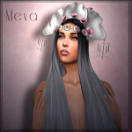 Meva Leaf Rose Head Piece Ad Pic