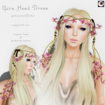 _NAMINOKE_Gaura Head Dress PINK AD