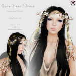 _NAMINOKE_Gaura Head Dress WHITE AD