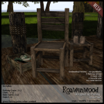 {RW} Roughed Up Fishing Chair Set
