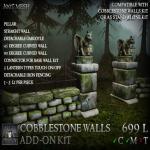 Stormwood Cobblestone Wall Add-On Kit A