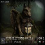 Stormwood Cobblestone Wall Add-On Kit B