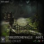 Stormwood Cobblestone Wall Add-On Kit C
