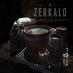 [ zerkalo ] Rustic Bathroom AD