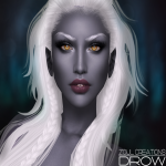 Zoul Creations Drow Display