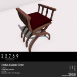 22769 ~ [bauwerk] Harbour Master Chair [ad]