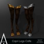 AiShA (V) Capri Legs Coffe