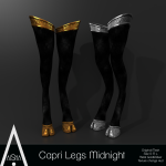 AiShA (V) Capri Legs Midnight