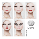 Glam Affair - Diore skin Appliers for Lelutka Mesh Head  - AD