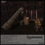 {RW} Mesh Branding Log Set