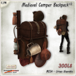 [V_W] AD_Medieval Camper Backpack V2