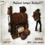 [V_W] AD_Medieval Camper Backpack V3