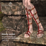 2015 Oct We _3 RP lassitude & ennui preview Astarte Sandals