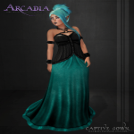 .Arcadia. Captive Gown