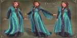 Elwing Gown BLUE