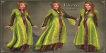 Elwing Gown GREEN