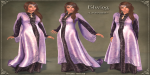 Elwing Gown LAVENDER