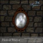 FIGMENT-Horror Mirror Ad
