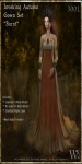 Invoking Autumn Gown Set-Burnt_Promotional Art