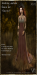 Invoking Autumn Gown Set-Sherbet_Promotional Art