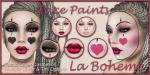 LB Facepaints Ad Harlequin Doll