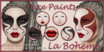 LB Facepaints Ad Harlequin Masque