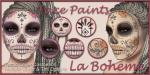 LB Facepaints Ad SugarSkull Blossoms