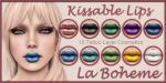 LB Lip Ad Kissable Harlequin Set 3
