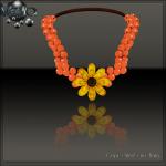 Meva Fall Berry Necklace Vendor