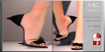 Miamai_BlackWidow_Black empress shoes (Slink high) ADs