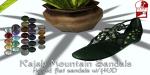 _pm_ Kajah Mountain Sandals advert