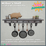 [LJ] Wilbur's Shelf - 33% off at We Love Role Play