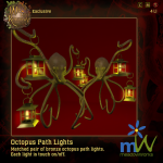 meadowWorks Octopus Path Lights W_3RP