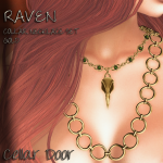 RAVEN COLLAR GOLD ADD 1