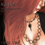 RAVEN COLLAR SILVER ADD 1