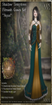 Shadow Temptress Gown Set-Aqua_Promotional Art