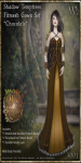 Shadow Temptress Gown Set-Chocolate_Promotional Art