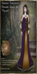 Shadow Temptress Gown Set-Purple_Promotional Art