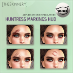 [theSkinnery] Huntress Markings (Catwa Appliers) ad