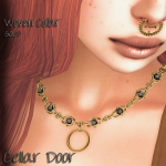 WOVEN COLLAR GOLD ADD 1