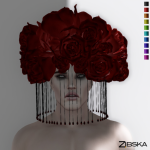 Zibska ~ Adra Headpiece