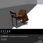 22769 ~[bauwerk] Fur Ottoman [ad]