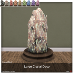 A.D.D.Andel! Large Crystal Decor AD