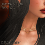 CD ADD AURORA COLLAR ROSE GOLD